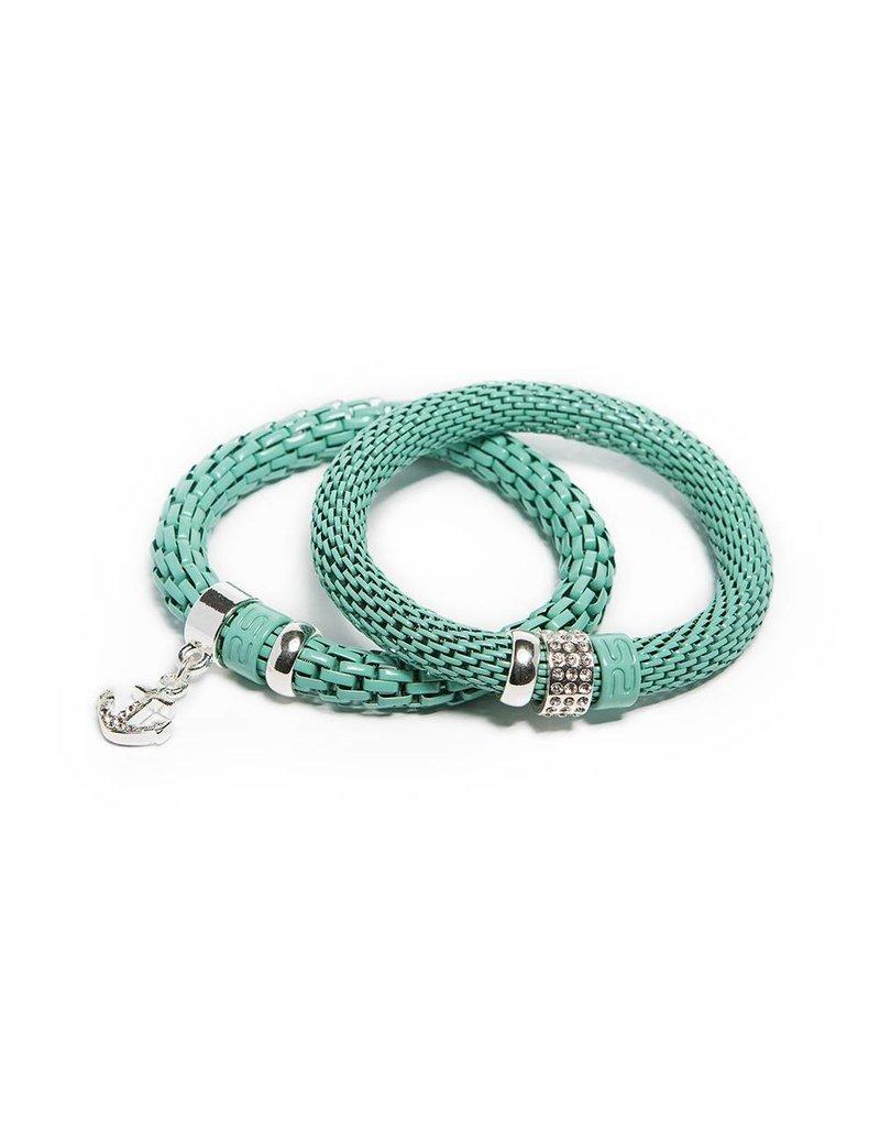 Silis The Snake Strass Ocean Wave / Anchor
