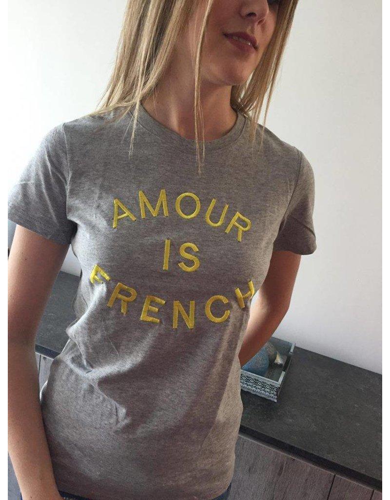 Jubylee T-shirt Amour Grijs