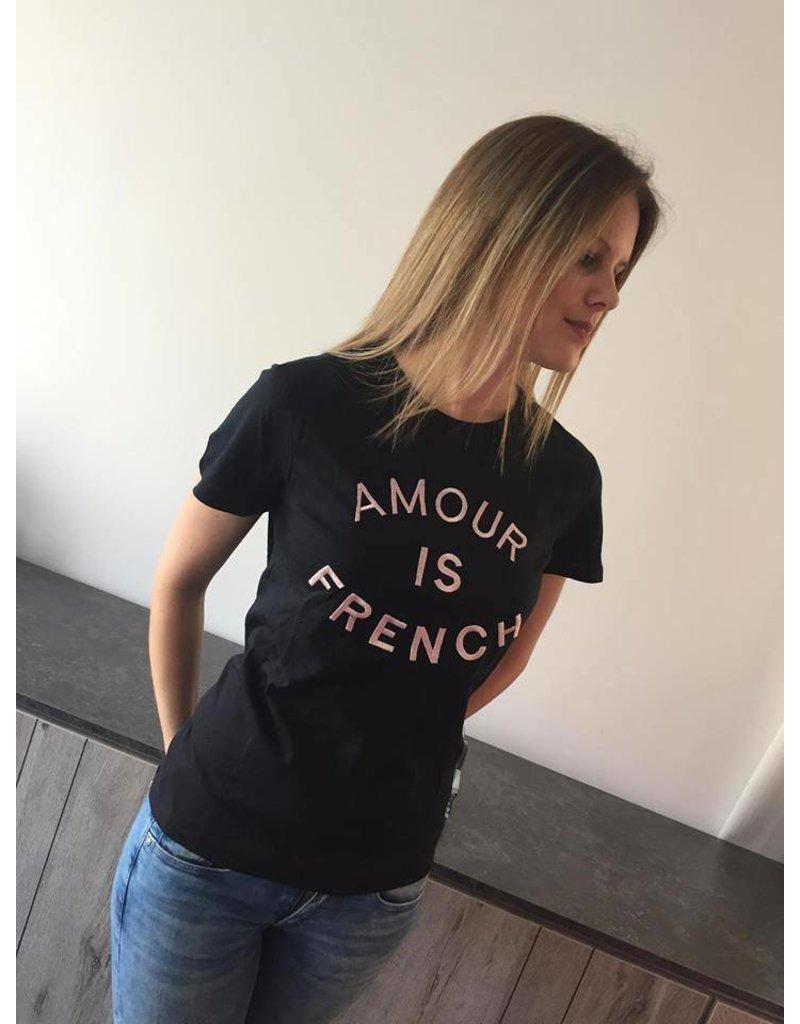 Jubylee T-shirt Amour Zwart