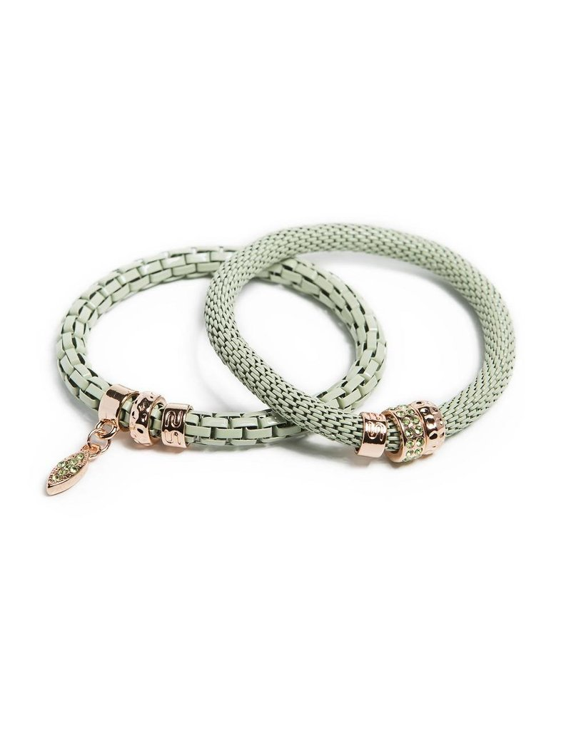 Silis The Snake Strass Mysterious Green / Oval Strass