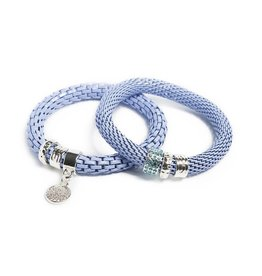 Silis The Snake Strass Blue Mist / Charmed Coin