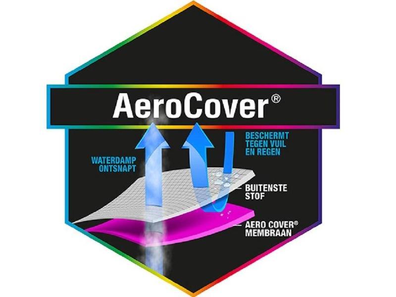 Aerocover tuintafelhoes 220x110x70 cm.