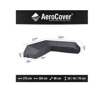 Aerocover Platform loungesethoes 350x275x90x70 cm - LINKS
