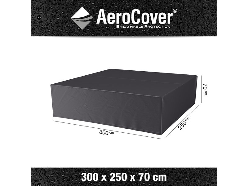 Aerocover Loungesethoes 300x250x70 cm.