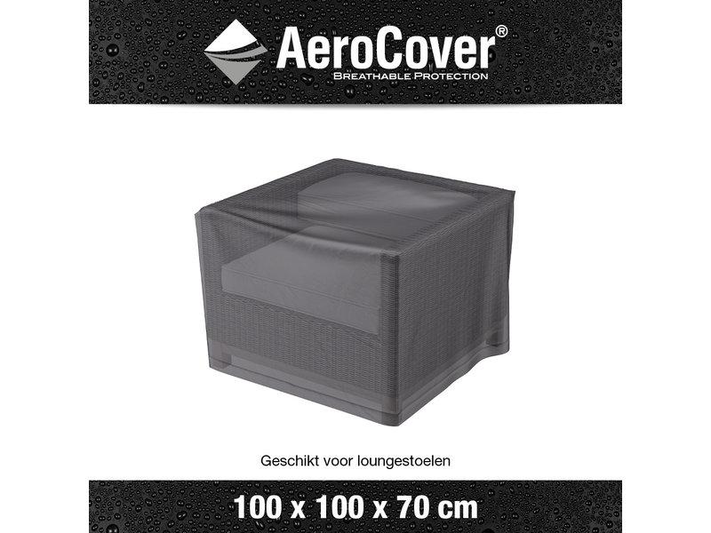 Aerocover hoes loungestoel 100x100x70h cm.