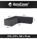 Aerocover L vormige loungesethoes 270x270x70 cm.
