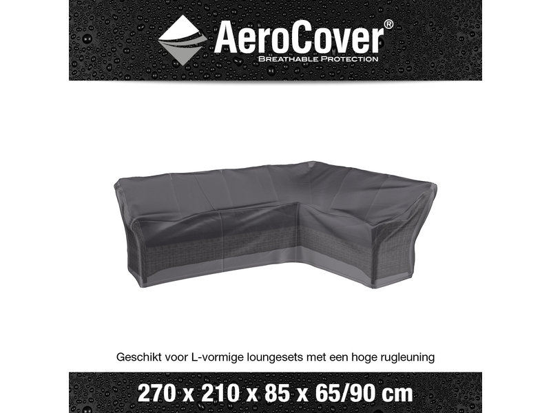 Aerocover Lounge dining hoes RECHTS 270x210x85xh65/90