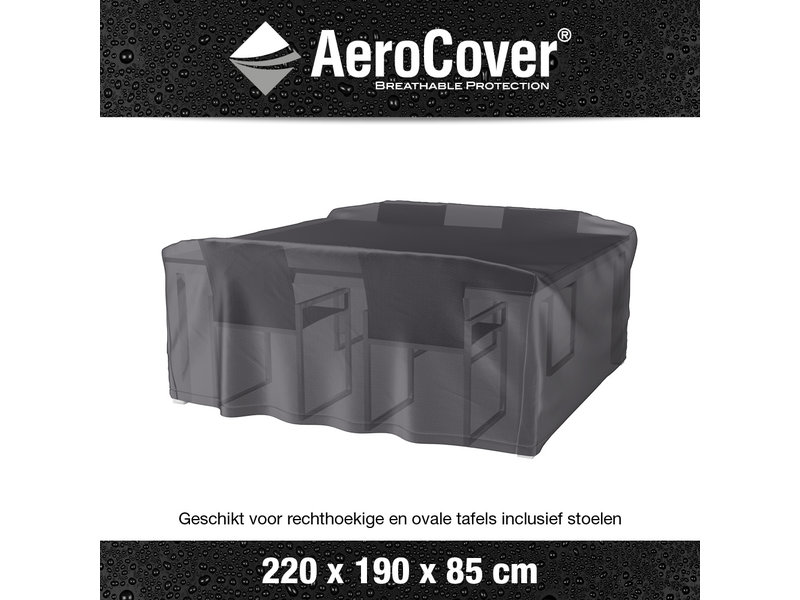 Aerocover Tuinsethoes 220x190x85 cm. - Copy