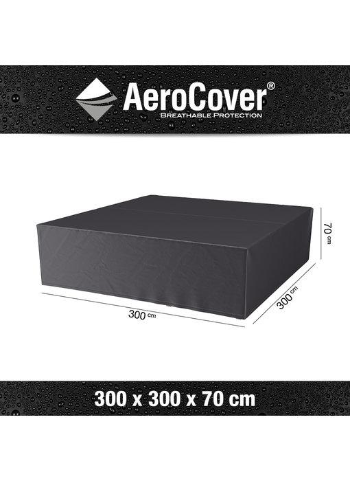 Aerocover loungesethoes 300x300x70 cm.