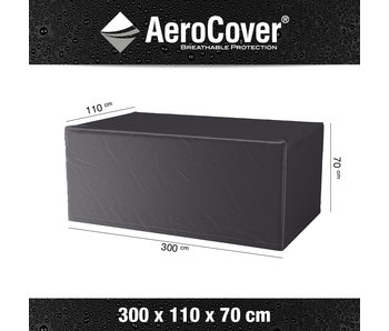 Aerocover tuintafelhoes 300x110x70 cm.