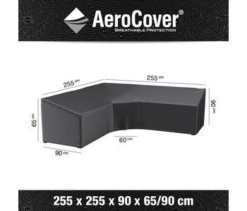 Aerocover BIG L vormige loungesethoes 255x255x65/90 cm.