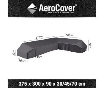 Aerocover Platform loungesethoes 375x300x90xh30/70 - RECHTS