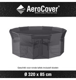 Aerocover ronde tuinsethoes 320x85h cm.
