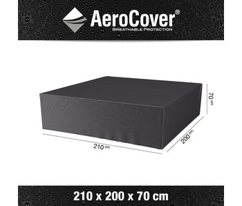 Aerocover loungesethoes 210x200x70 cm.