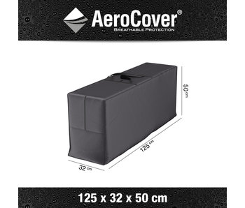Aerocover kussentas voor tuinstoelkussens 125x32x50 cm.