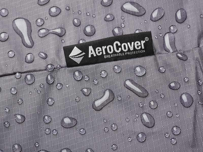 Aerocover L vormige loungesethoes 300x300x70 cm.