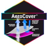 Aerocover ronde tuinsethoes 250x85h cm.