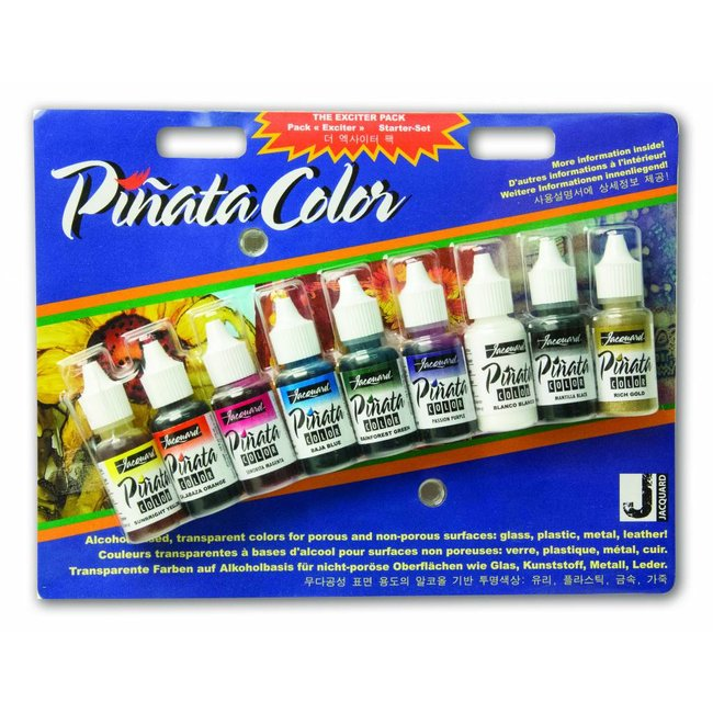 """Jacquard Pinata Alcohol Ink """"Color Exciter Pack"""""""