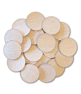 Sandingpapers 320 grit for Poly-Fast 25 pieces