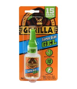 Gorilla Super Glue Gel - Flacon 15 gram