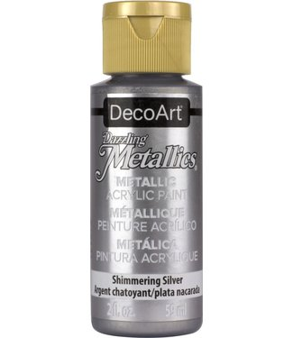 Dazzling Metallics Acrylic Paint Shimmering Silver