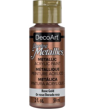 Dazzling Metallics Acrylic Paint Rose Gold
