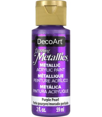 Dazzling Metallics Acrylic Paint Purple Pearl