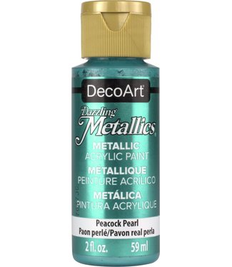 Dazzling Metallics Acrylic Paint Peacock Pearl