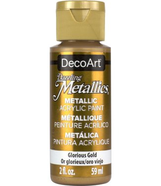 Dazzling Metallics Acrylic Paint Glorious Gold