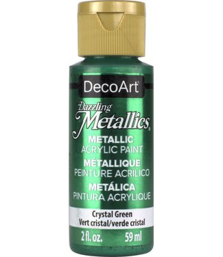 Dazzling Metallics Acrylic Paint Crystal Green