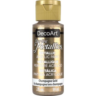 Dazzling Metallics Acrylic Paint Champagne Gold