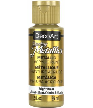 Dazzling Metallics Acrylic Paint Bright Brass