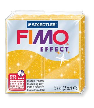 Fimo Effect Glitter Gold (112) 2 oz - 57 g