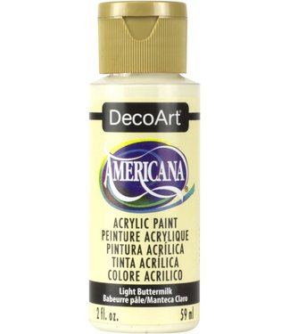 Americana Acrylic Paint Light Buttermilk