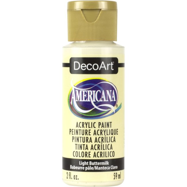 DecoArt Americana Acryl Verf Light Buttermilk