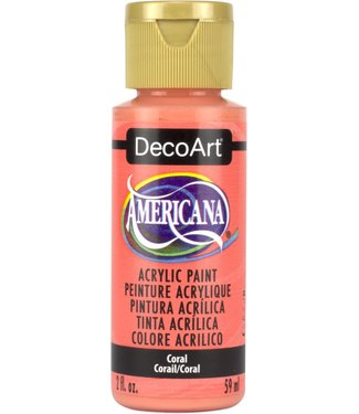 Americana Acrylic Paint Coral
