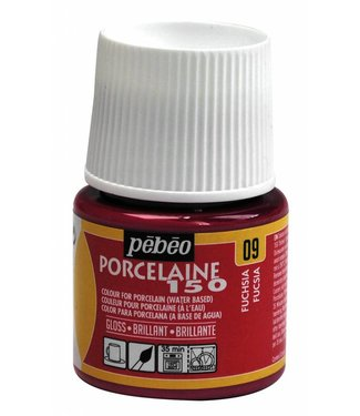 Pebeo Porseleinverf Gloss Fuchsia (09) 45 ml.