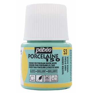Pebeo Porseleinverf Gloss Water Green (53) 45 ml.