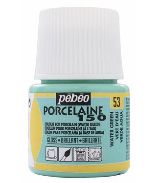 Pebeo Porcelain Paint Gloss Water Green (53) 45 ml.