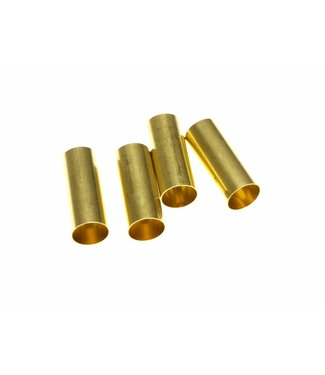 Round Brass tube diameter 10 mm. length 25 mm.
