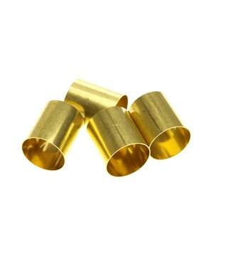 Round Brass tube diameter 160 mm. length 18 mm.