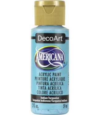 Americana Acrylic Paint Indian Turquoise