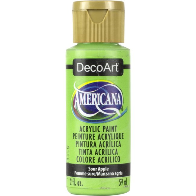 DecoArt Americana Acryl Verf Sour Apple