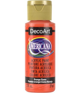 Americana Acrylic Paint Orange Flame