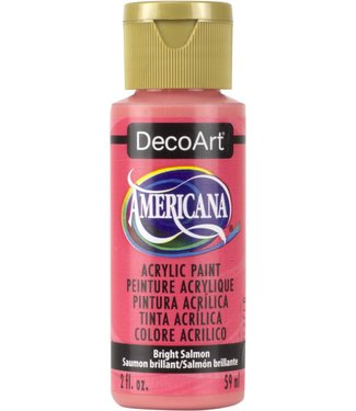 Americana Acrylic Paint Bright Salmon