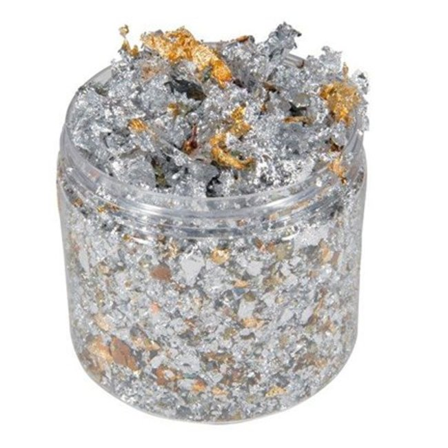 """Cosmic Shimmer Gilding Flakes """"Silver Dream"""""""