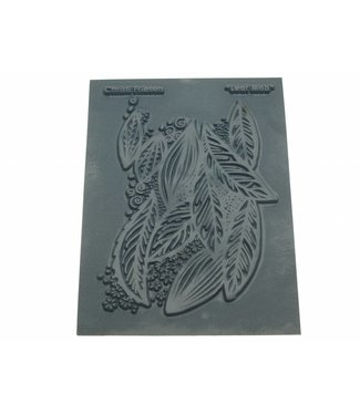"Christi Friesen Texture Stamp ""Leaf Mob"""