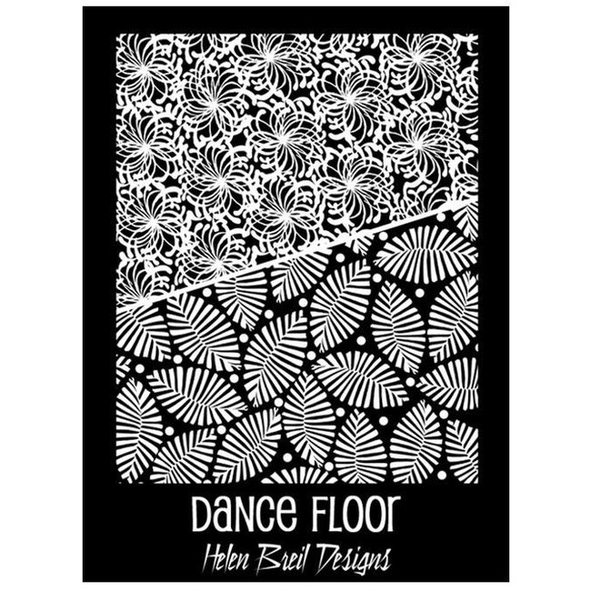Helen Breil Designs Texture Stamp Dance Floor