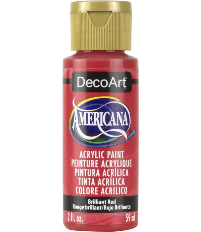 Americana Acryl Verf Brilliant Red
