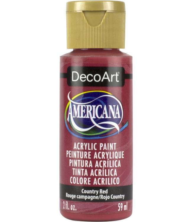 Americana Acryl Verf Country Red